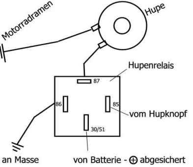 Wie schliesse ich das Relais des Horn an? - boote-forum.de - Das ...